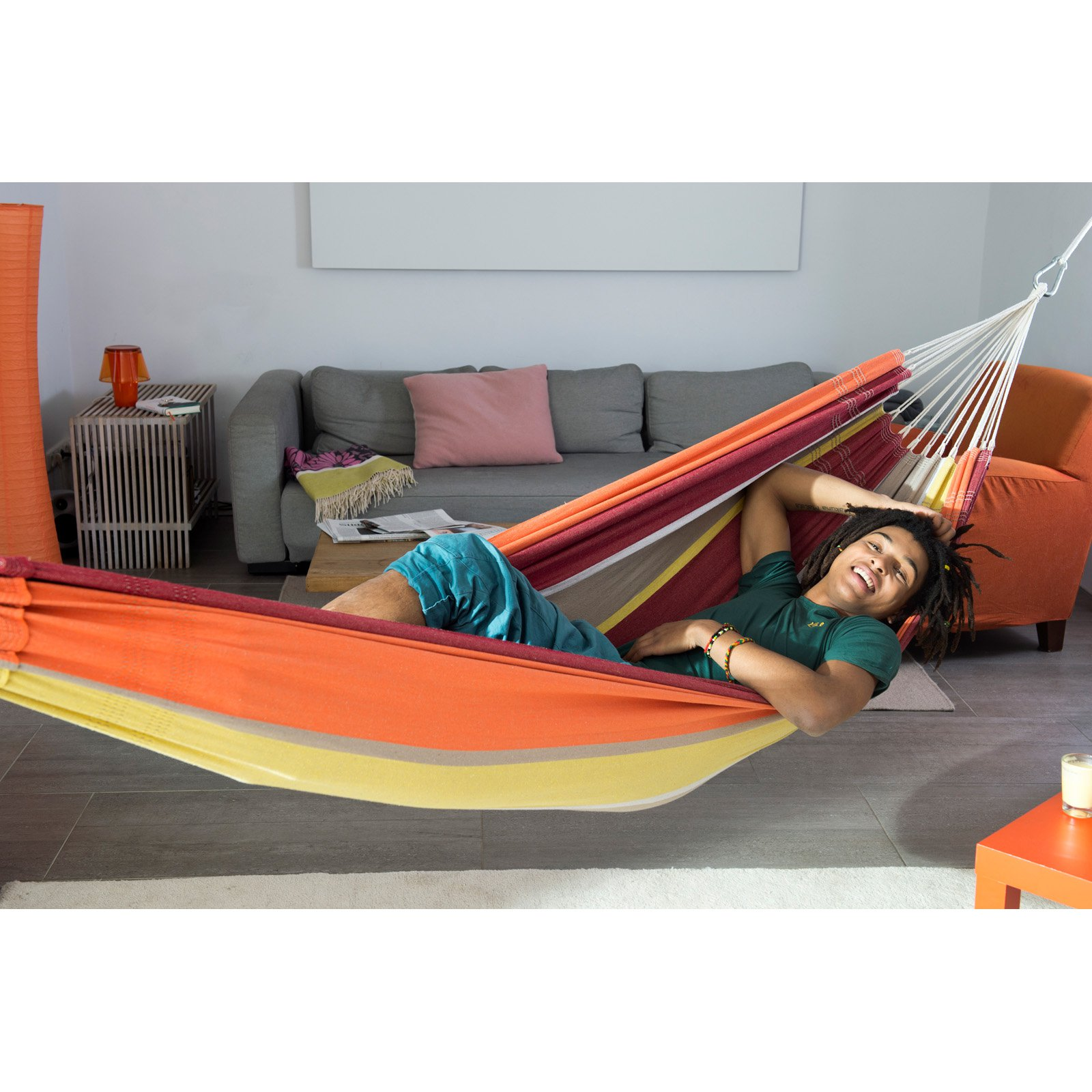 Click here to buy Byer of Maine Barbados Single Hammock by Byer.