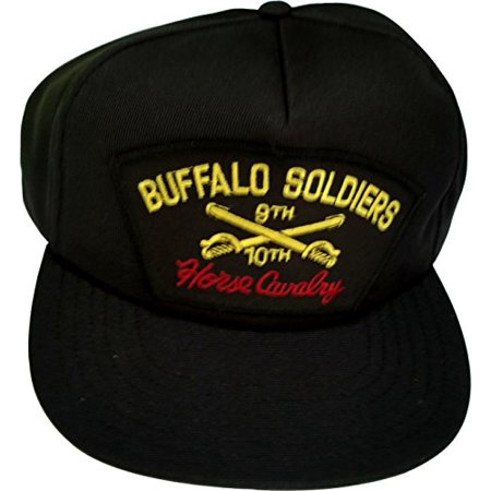 US Army Buffalo Soldiers 9th 10th Cavalry Ball Cap - Walmart.com 2f2ae388982
