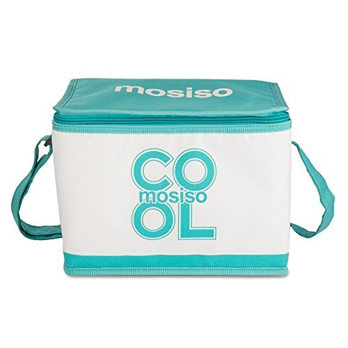 Lunch Bag Box, Mosiso Insulated Cooler Bag Isothermic Bags, Hot Blue