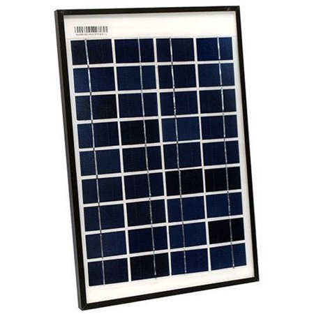 10w Solar Panel - ALEKO PP10W12V Polycrystalline Modules Solar Panel, 10W 12V Portable Green Energy Power