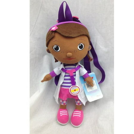 Doc Mcstuffins Bag (Plush Backpack - 15 New Soft Doll Toys Gifts Toys)