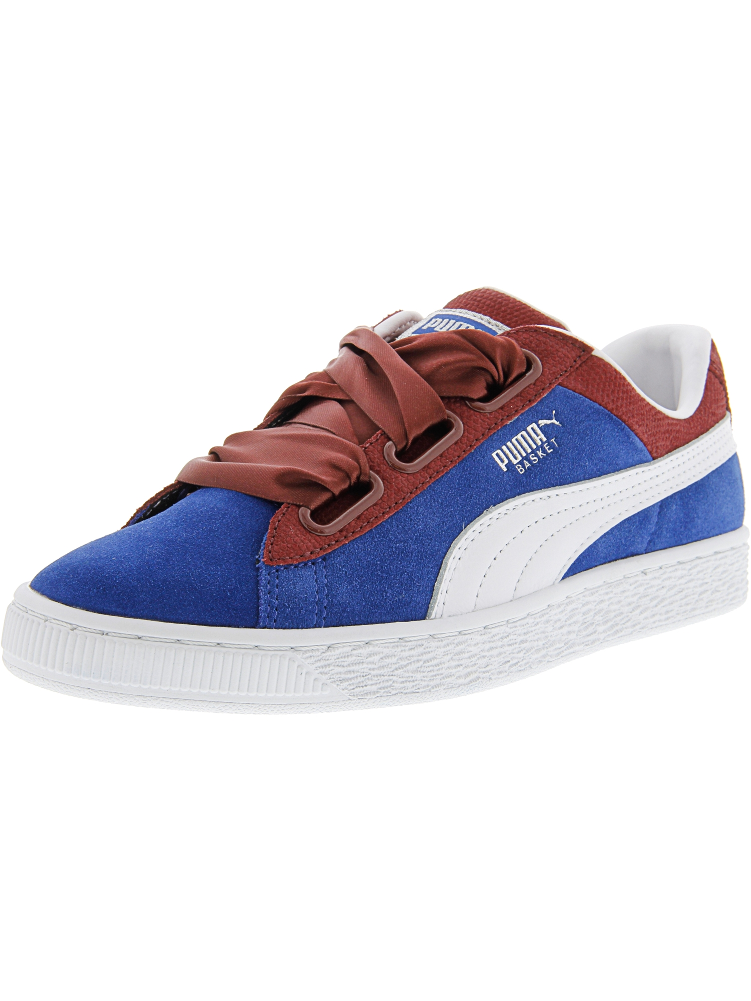 Puma Women's Basket Heart Cb True Blue / Cabaret Ankle-High Fashion Sneaker - 6M
