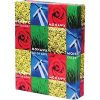 Mohawk, MOW36201, Color Copy Gloss 80 Text Cover Paper, 500 / Ream, White