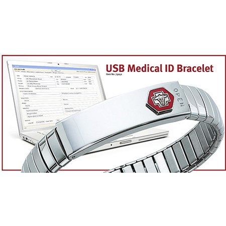 Digital Medical ID Bracelet
