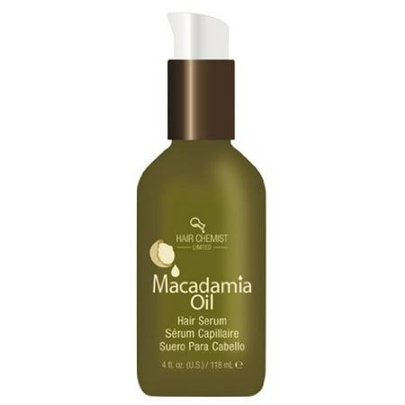 Hair Chemist Macadamia Oil Hair Serum, 4 Ounce - image 1 de 1