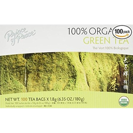 Prince of Peace Organic Green Tea Multi Package 300 Tea Bags