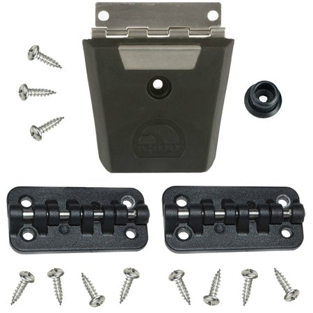 Replacement Cooler Latch - Igloo Cooler Replacement Hybrid Latch & Hinge Set (Stainless/Plastic)