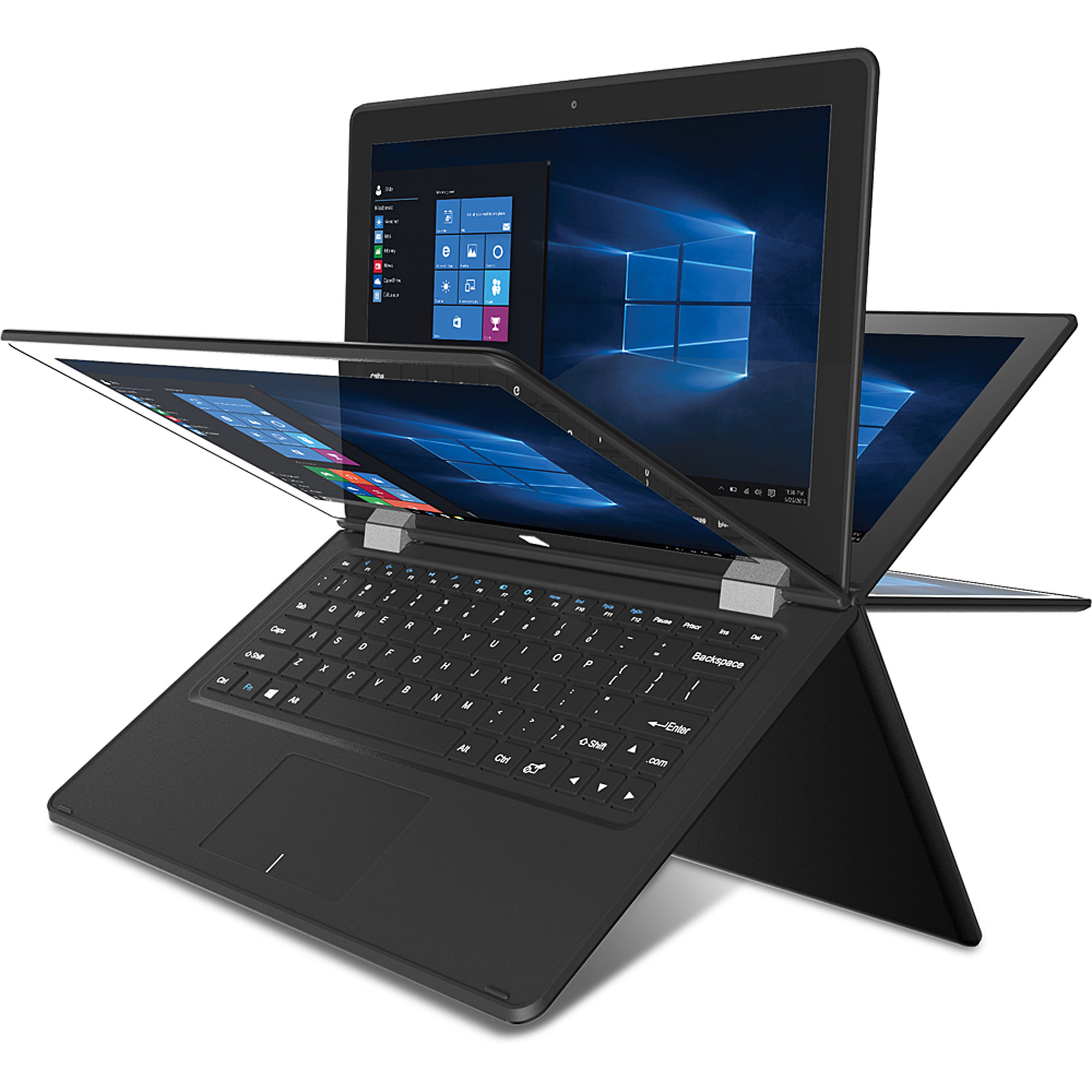 "Slide 11.6"" 2-in-1 Folding Touchscreen Laptop, Quad Core ..."