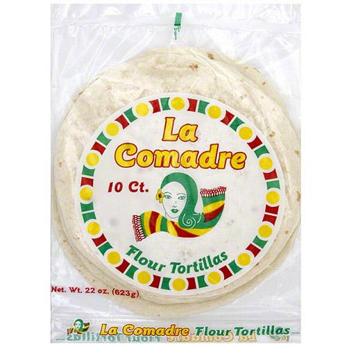 La Comadre Flour Tortillas, 22 oz (Pack of 12) by Generic