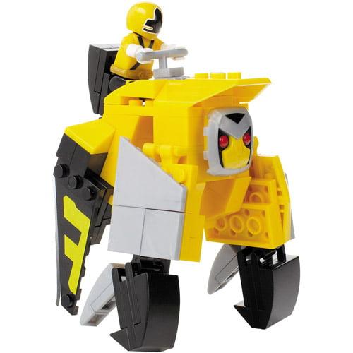 Mega Bloks Power Rangers Samurai Yellow Ape Folding Zord Building Set