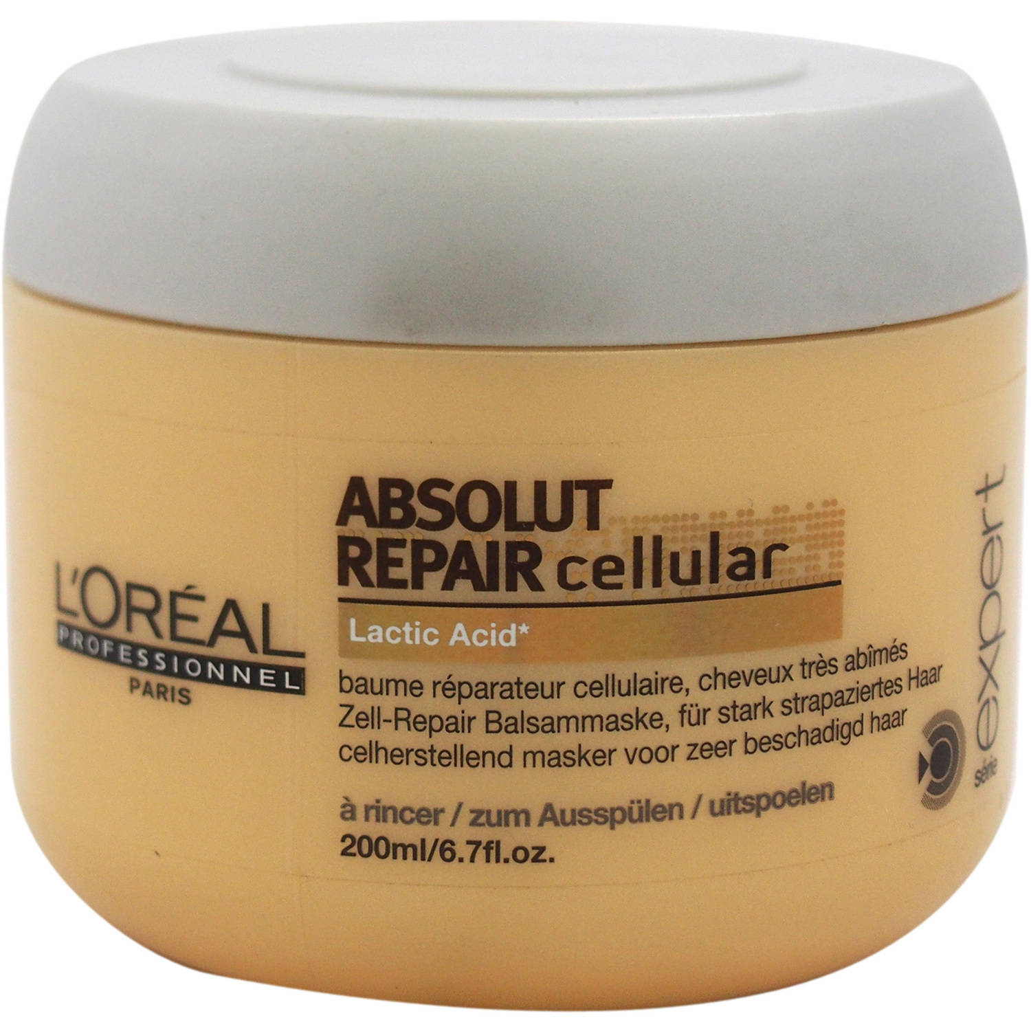 Serie Expert Absolut Repair Cellular Masque by L'Oreal Professional for Unisex, 6.7 oz - Walmart.com