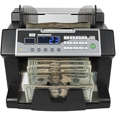 Royal Sovereign Money Counting Machine, High Speed Bill Counter, UV