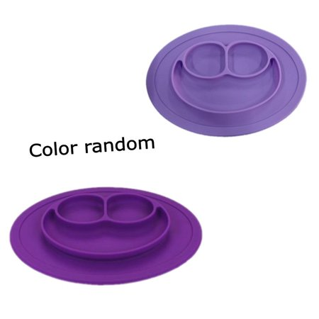 High Quality & Durable Bowl Silicone Mat Baby Kids Child Cute Suction Table Food Tray Placemat (Jl Childress Food N Fun Toddler Tray)