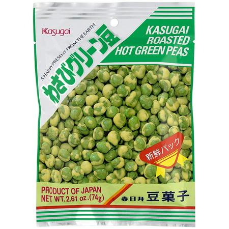 Wasabi Green Peas 2.61oz (12 Pack) Kasugai