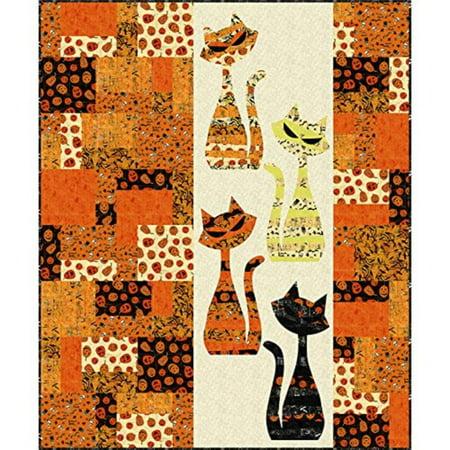 Mod Cat Quilt Pattern - 53
