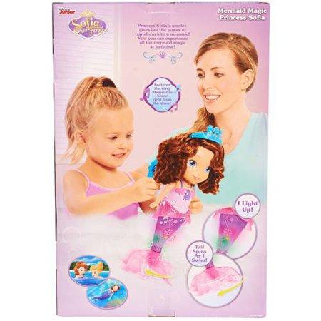0a63359035e Sofia the First Mermaid Magic Princess Sofia - Walmart.com