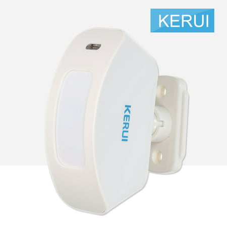 Passive Infrared Sensor - KERUI Wireless 433MHz Infrared Detector PIR Motion Sensor Window Curtain Passive Infrared Alarm Detection For Home Burglar Security Alarm System