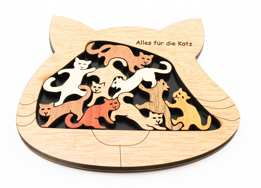Alles fur die Katz (Katzen) Brain Teaser Puzzle by Constantin