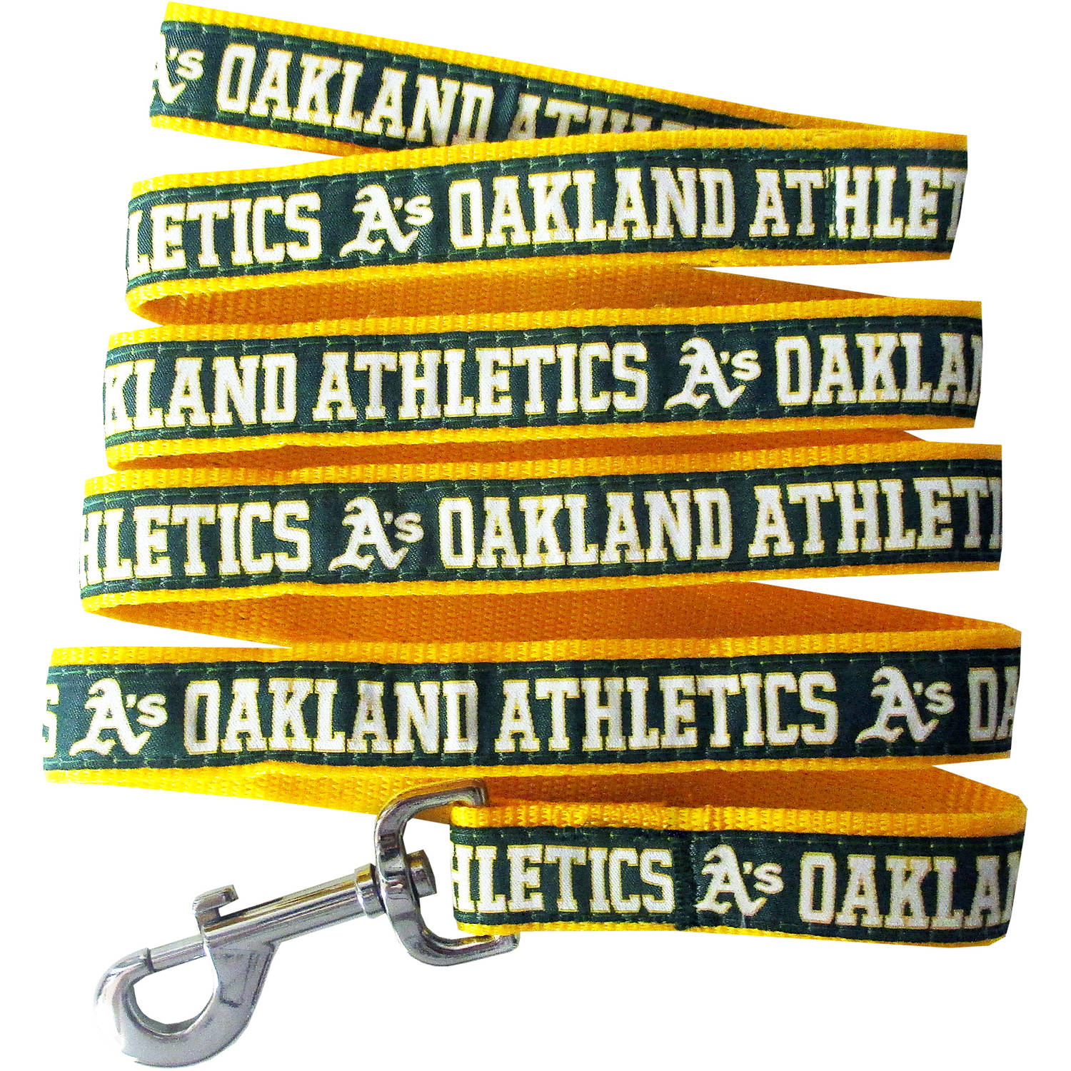 Pets First Oakland Athletics  Pet Leash, Small