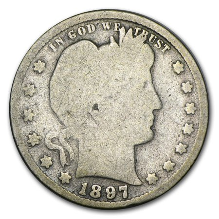 1897-S Barber Quarter Good