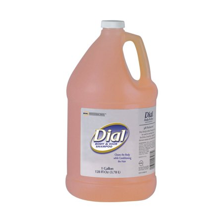 Dial Professional 03986 Dial Body & Hair Shampoo Include 1 pump 1 Gallon (Case of -