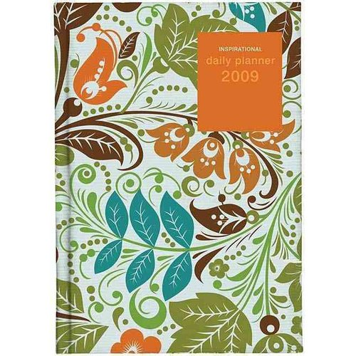 Inspirational Daily Planner (Floral Pattern)