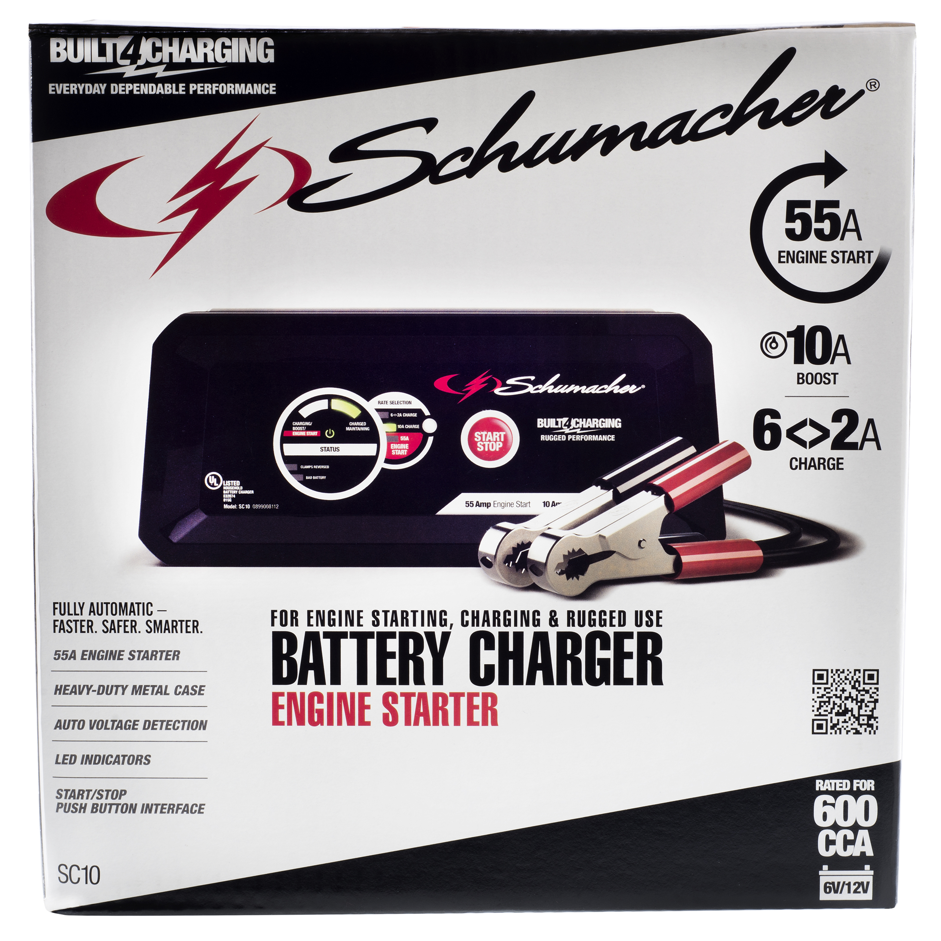Schumacher Electric 10 Amp Metal Case Battery Charger Schematic Diagram On 12v