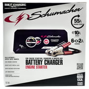 Schumacher Portable Automatic 55 Amp Battery Charger and Engine Starter