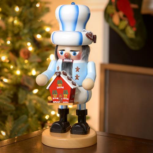 Steinbach Gnome Gingerbread Baker Nutcracker Signed