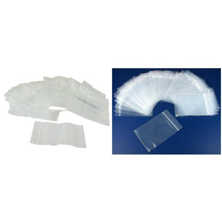 Resealable Reclosable Clear Zipline Plastic Bags 2