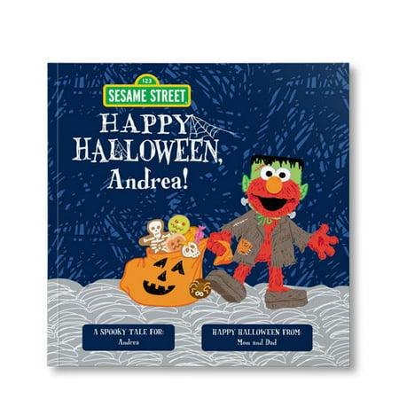 Sesame Street: Happy Halloween! - Personalized Book - Ernest Halloween Online