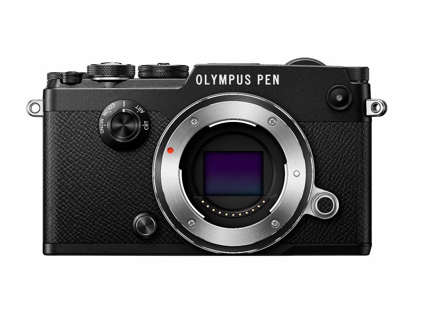 "Olympus PEN-F 20.3 Megapixel Mirrorless Camera Body Only Black 3"" Touchscreen LCD 4:3 Optical (IS) TTL... by Olympus"