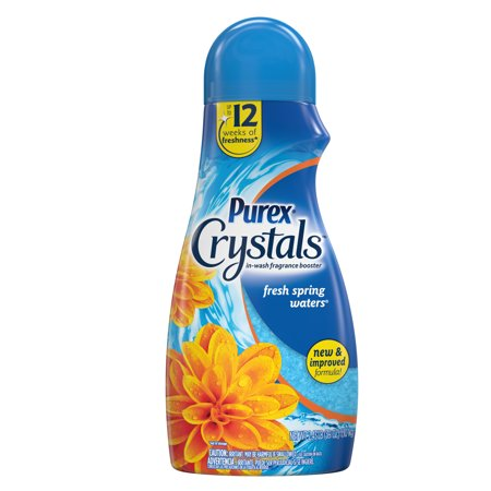 Purex Crystals In-Wash Fragrance and Scent Booster, Fresh Spring Waters, 39