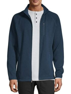 George Men's Full-Zip Sweater Fleece, Up to Size 5XL