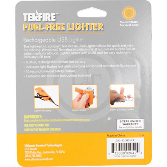 UST TekFire Fuel-Free Lighter
