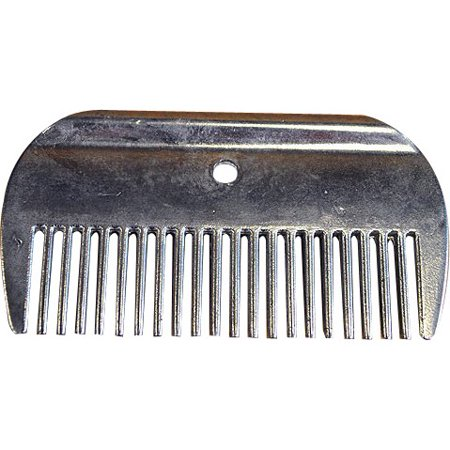 Hilason Aluminium Horse Tack Grooming Mane and Tail Comb