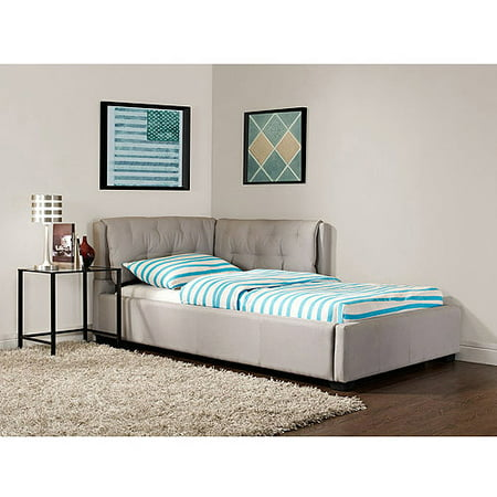 Tufted Lounge Reversible Twin Bed Stone Walmart Com