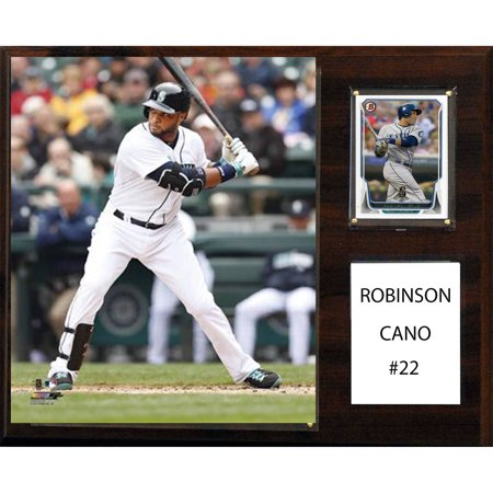 C&I Collectables MLB 12x15 Robinson Cano Seattle Mariners Player Plaque