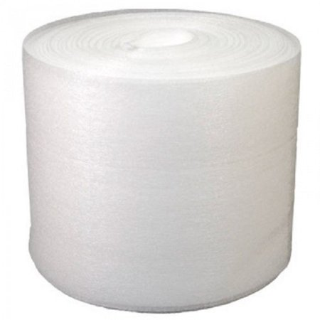 Uboxes Foam Wrap, 12 in x 50 ft x 3/32 in Thick, White