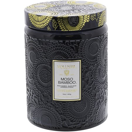 Voluspa Apricot (Voluspa Large Glass Jar Candle - Moso Bamboo VOL-7239 )