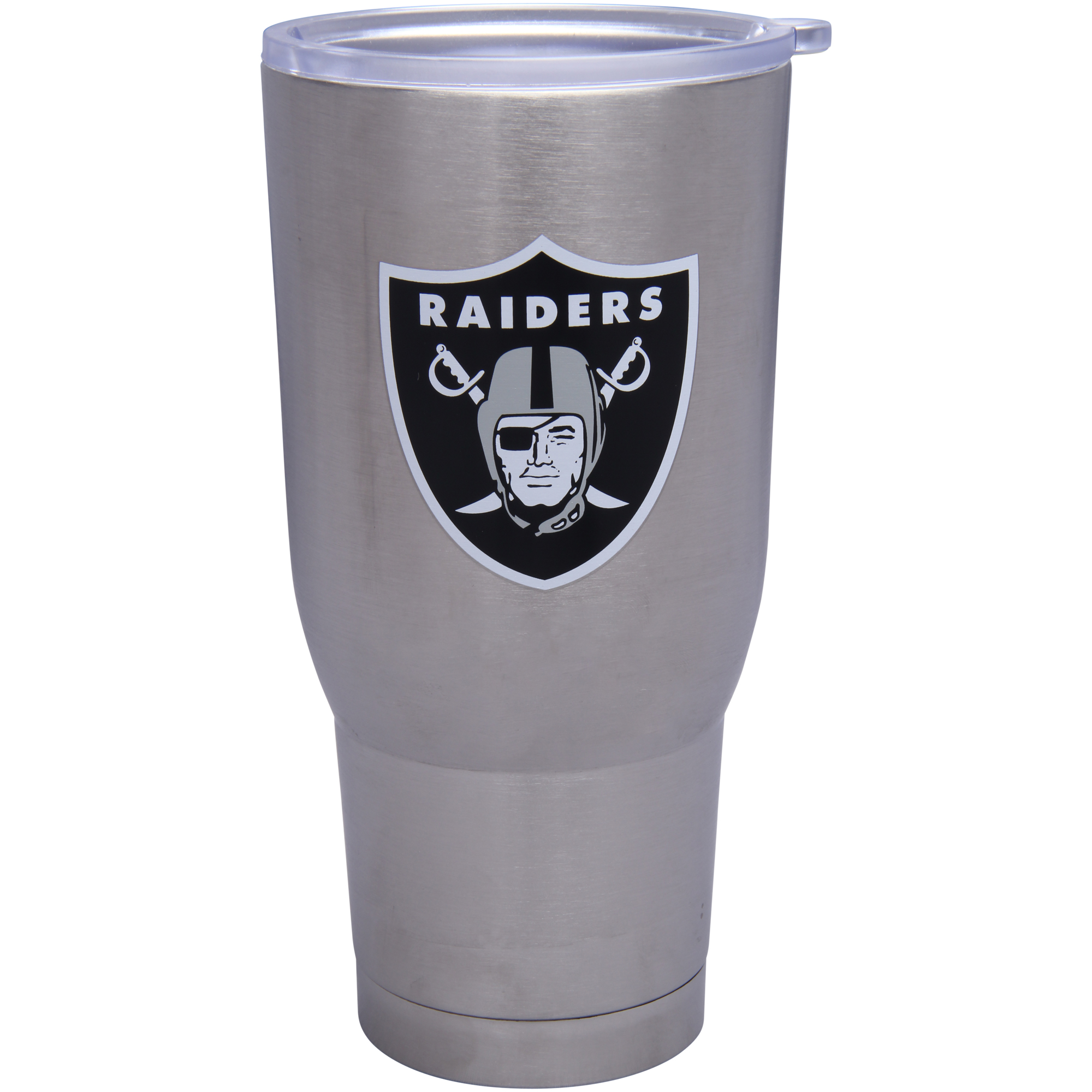Oakland Raiders 32oz. Stainless Steel Keeper Tumbler - No Size