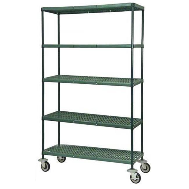 Focus Foodservice 5 shelf mobile cart - FPS-Plus shelves