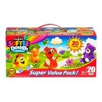 Cra-Z-Art Softee Dough Super Value Pack - 20 cans -60 oz