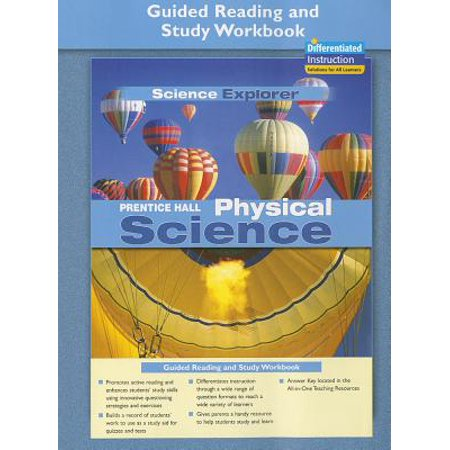 Prentice Hall Science Explorer Physical Science Guided Reading and Study Workbook