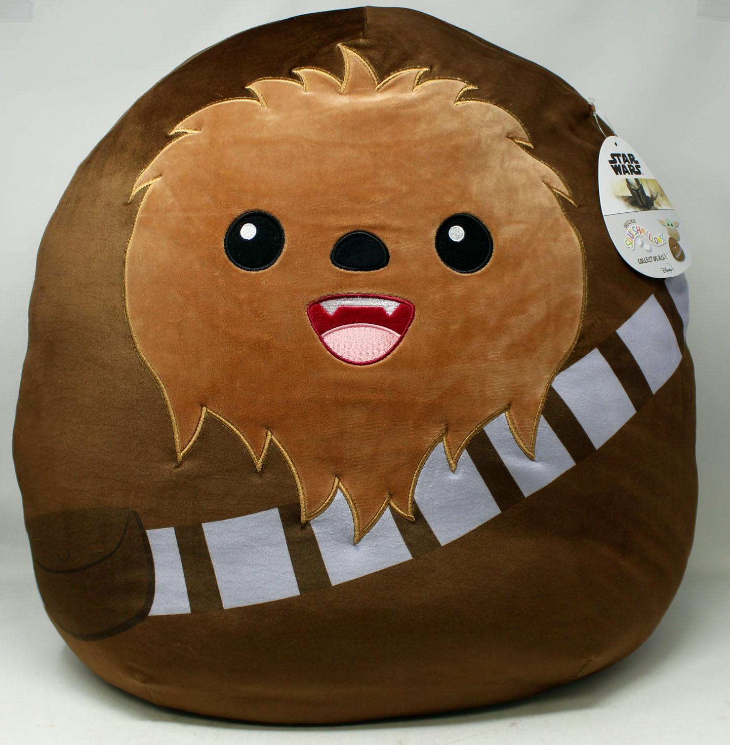 Star Wars Mandalorian Chewbacca  Plush Toy ~ Squishmallow 20 Inch