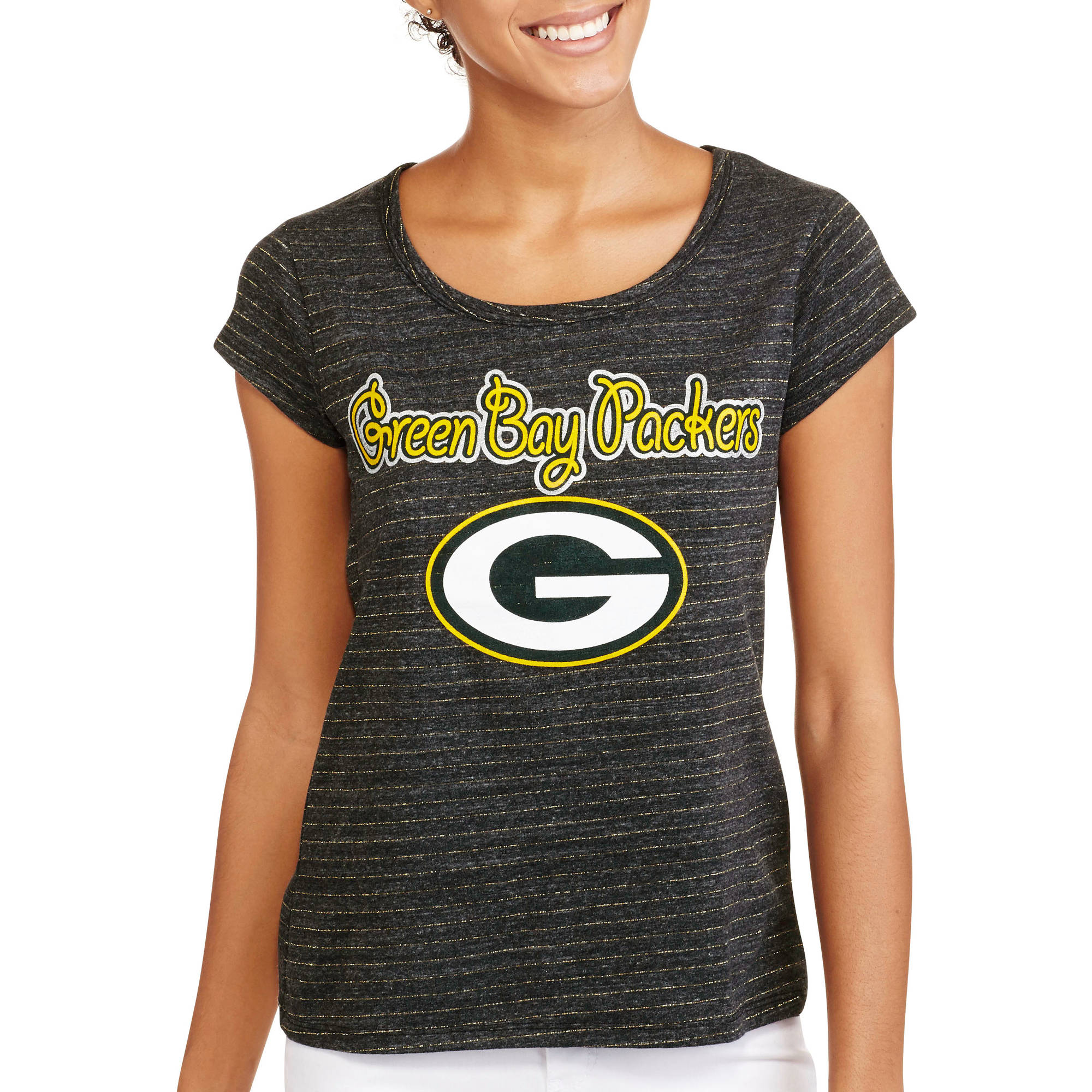 NFL Juniors Packers Short Sleeve Tee