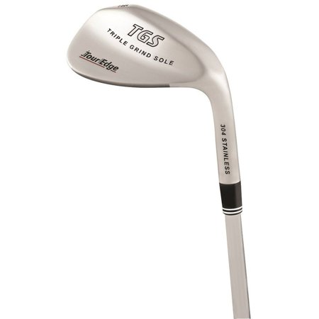 Lob Wedge Set - Tour Edge TGS Triple Grind Sole Lob Wedge 60* 07* (304 STAINLESS) NEW
