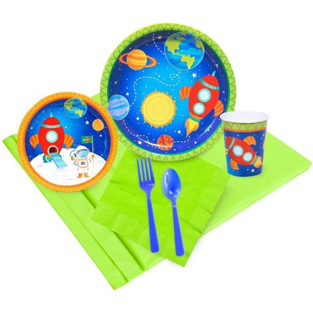 Rocket to Space 16-Guest Party - Astronaut Party Supplies
