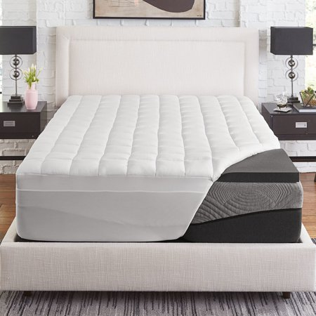 Slumber Solutions  Active 2-inch Charcoal Memory Foam with 1.5-inch fiber cover