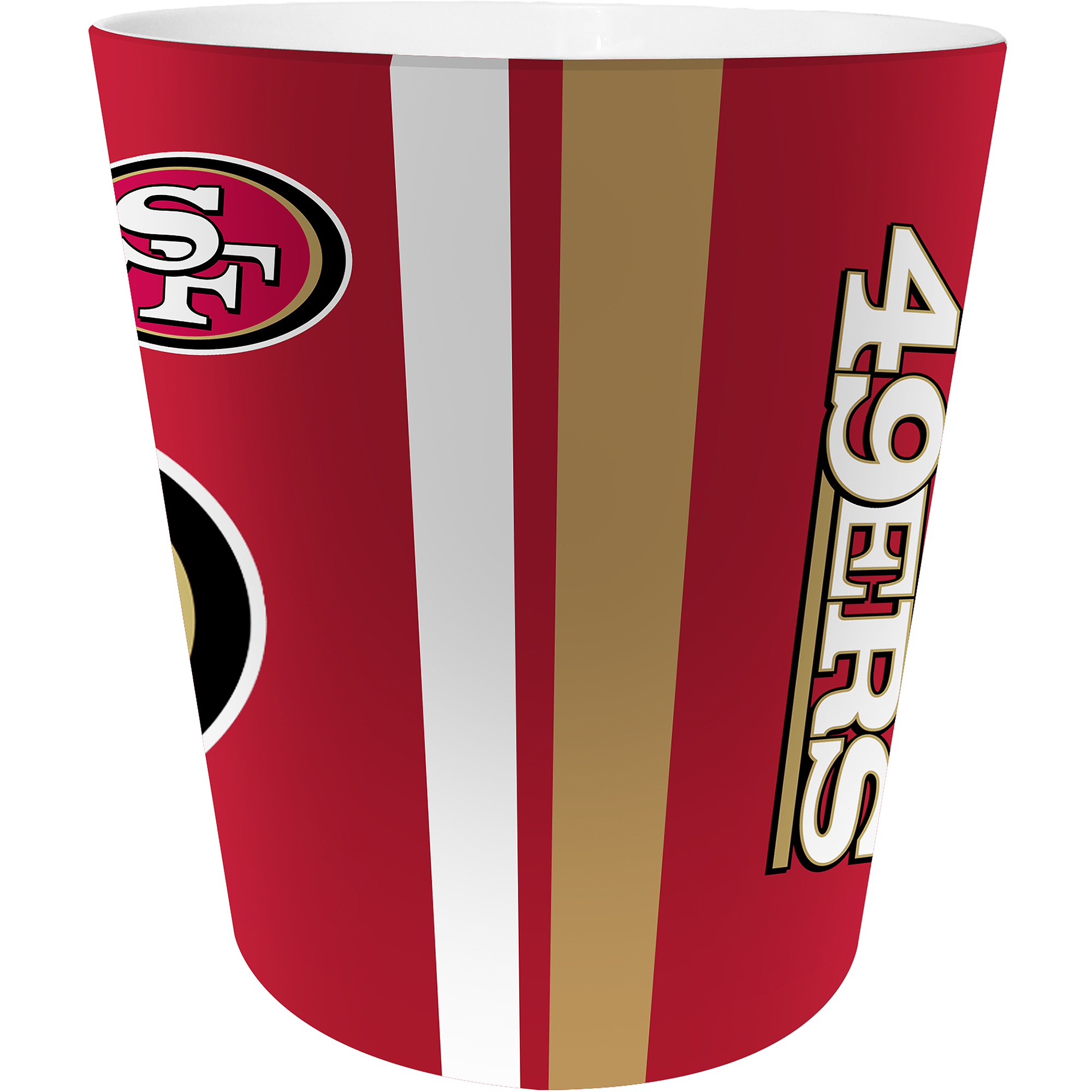NFL San Francisco 49ers Decorative Bath Collection - Wastecan
